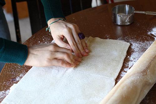 Kolay kuru pasta tarifi(milföylü)