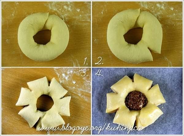 çiçek ekmek nasıl yapılır?