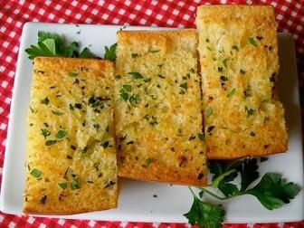 Fırında Sarımsaklı Ekmek tarifi