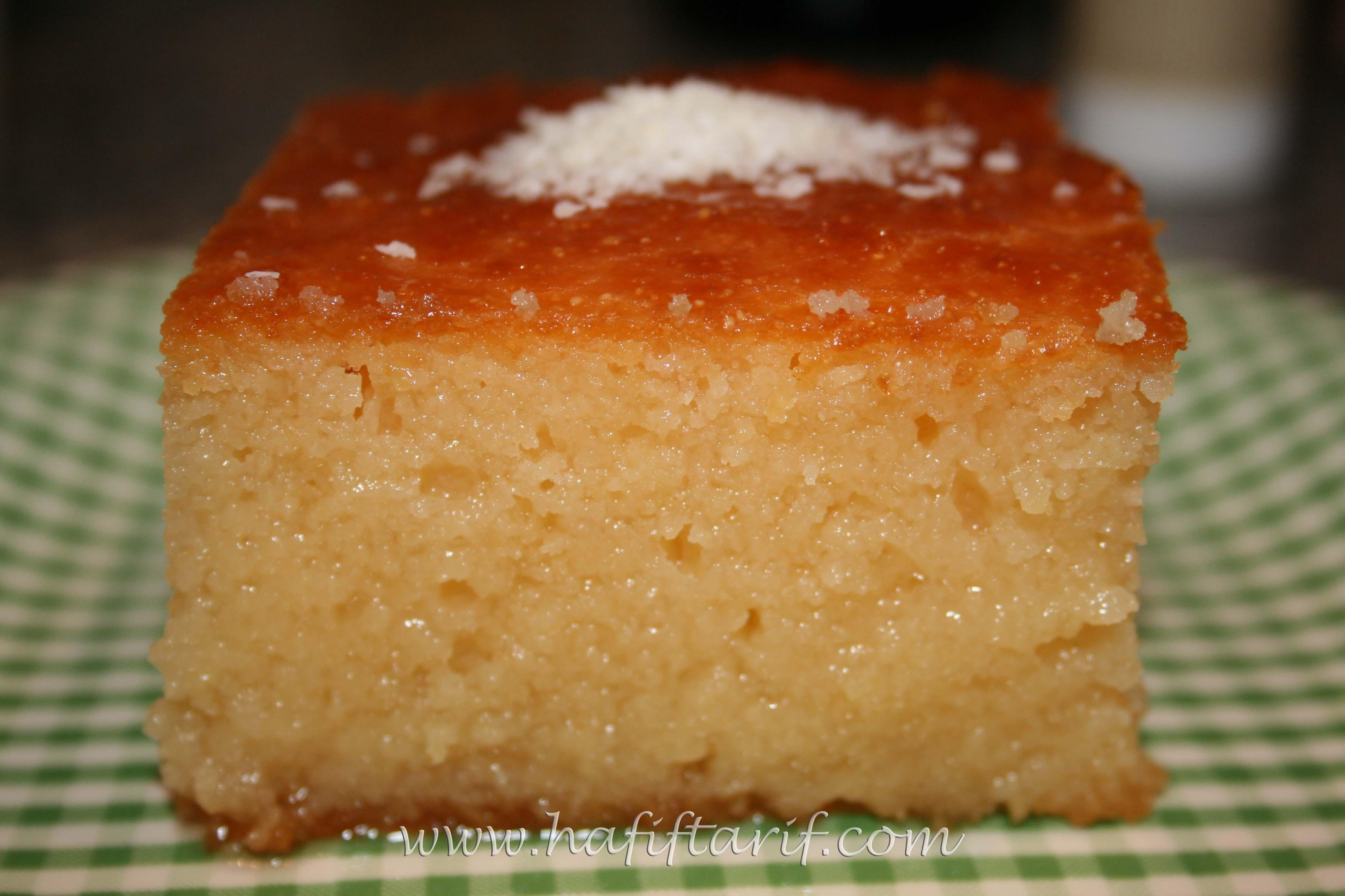 Revani tatlısı nasıl yapılır