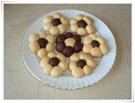 çiçek kurabiye tarifi