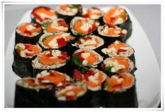 Çiğ Sushi tarifi