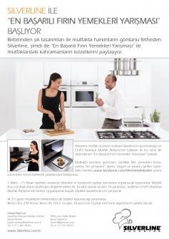 """Silverline ile """"En Başarılı Fırın Yemekleri Yarışması"""""""