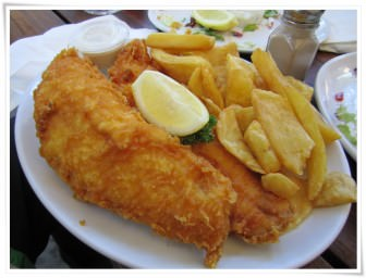 İngilizler'in Fish & Chips'i…