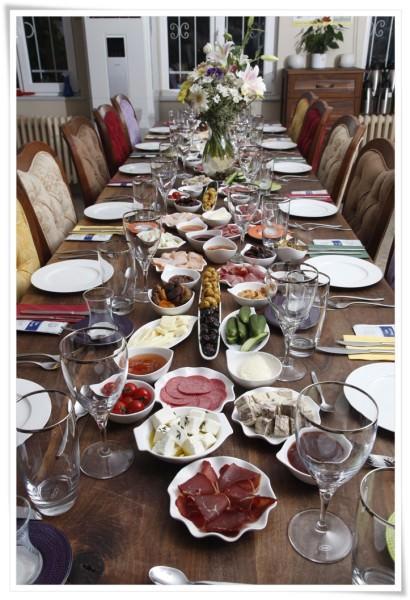 chef's table serkan bozkurt iftar masası