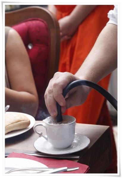 tütsülenmiş kıymalı tarhana çorbası