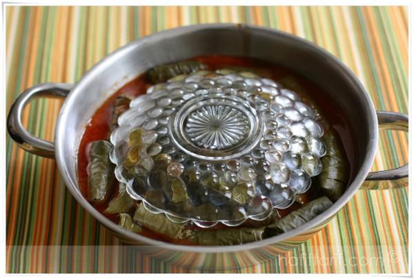 yaprak sarma pişirmek