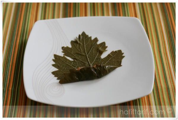 yaprak sarması nasıl sarılır?