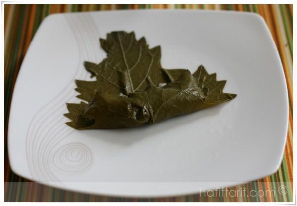 zeytinyağlı yaprak sarma nasıl yapılır?