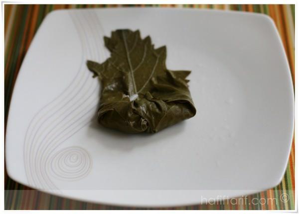 zeytinyağlı yaprak sarma nasıl sarılır?