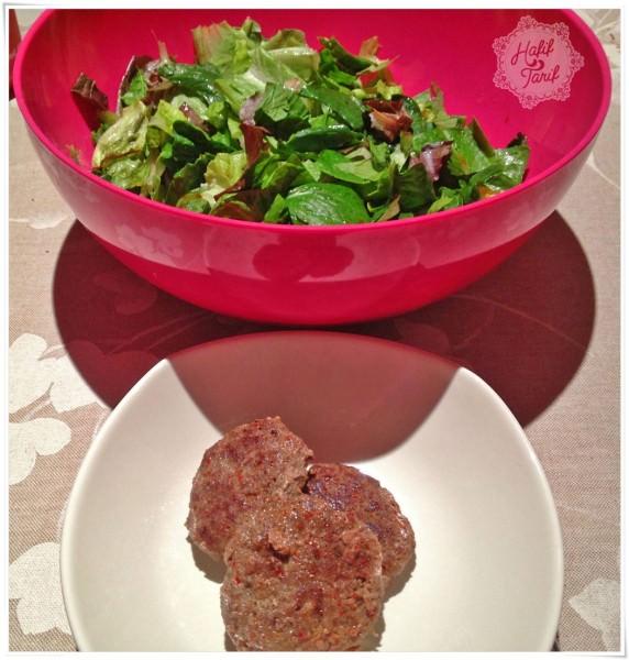köfte ve salata