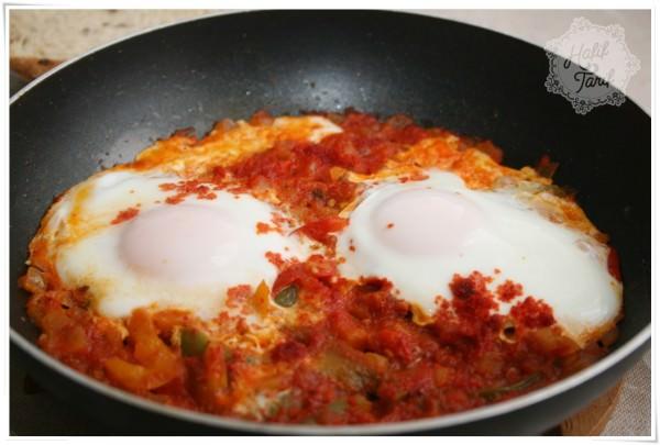 domatesli yumurta tarifi