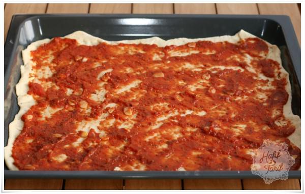 evde pizza yapmak