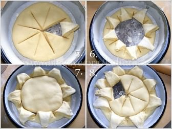 Papatya ekmek yapmak