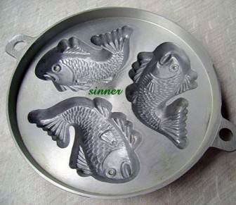 Balıklı-Çiçekli Kurabiye Kalıpları