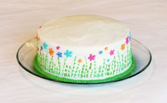 Yine doğumgünü pastası…