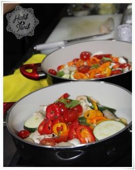 Cookplus ile Kremalı Sebzeli Levrek Tarifi